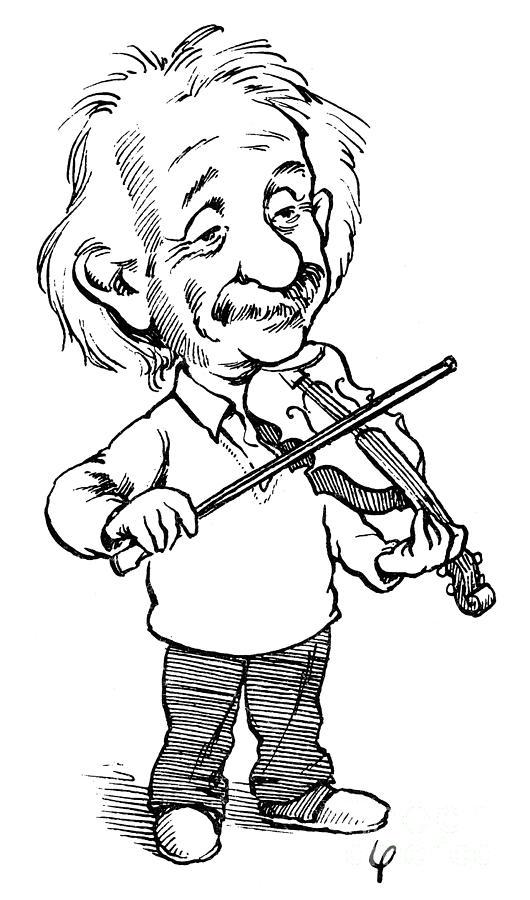 530x900 Albert Einstein (1879 1955) Photograph By Granger