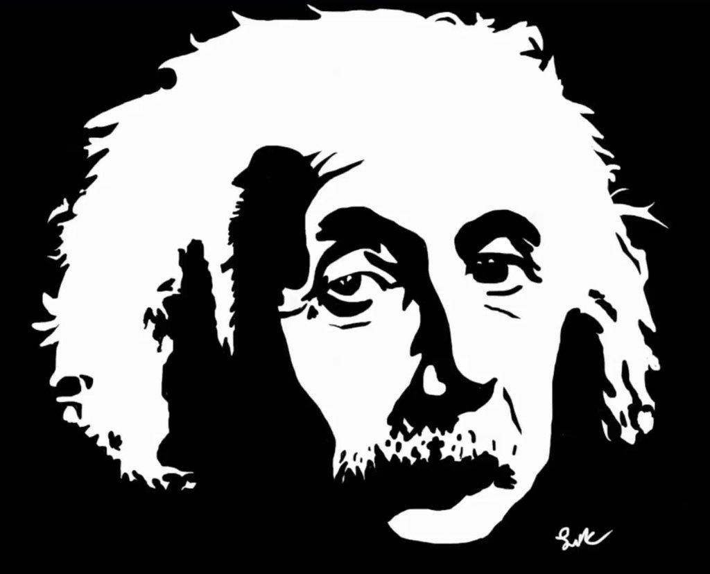 1024x828 Albert Einstein By Lwcpro