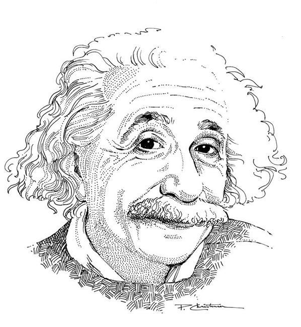 598x650 Albert Einstein
