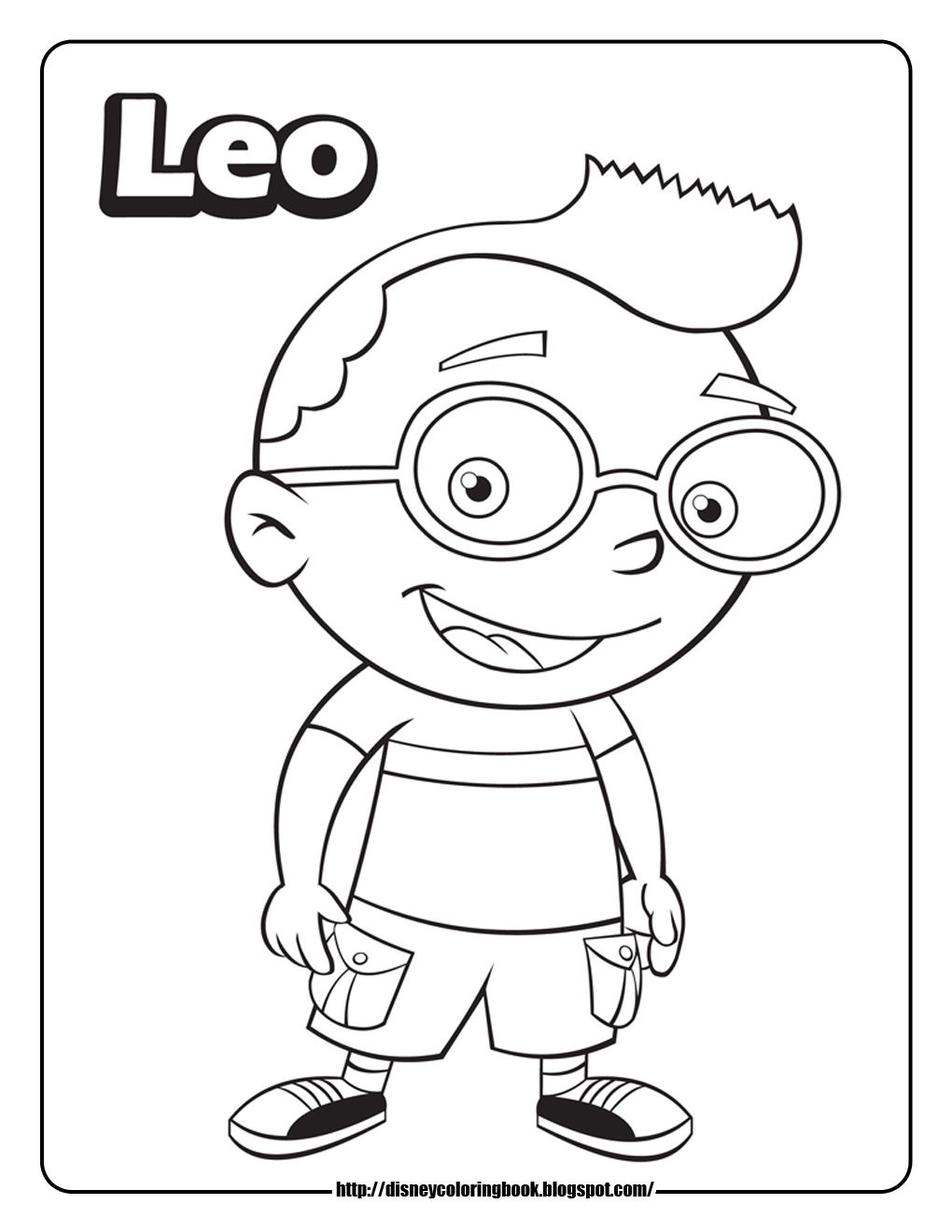 1020x1320 Little Einsteins Coloring Pages Free Disney Printables General