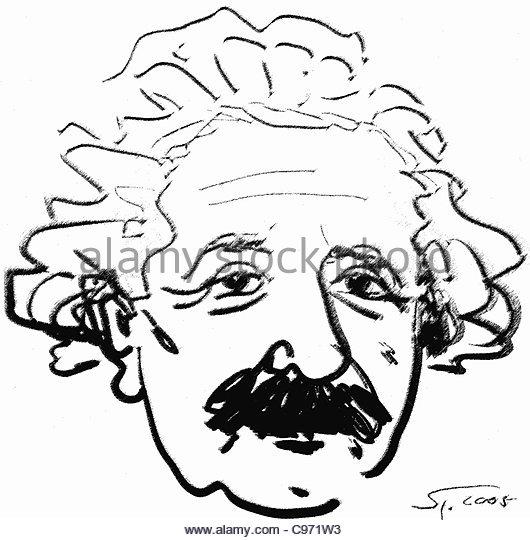 530x540 Portrait Albert Einstein Drawing Stock Photos Amp Portrait