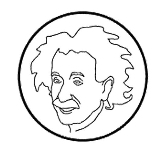 512x505 Albert Einstein Who Firmly Coloring Pages 29793,