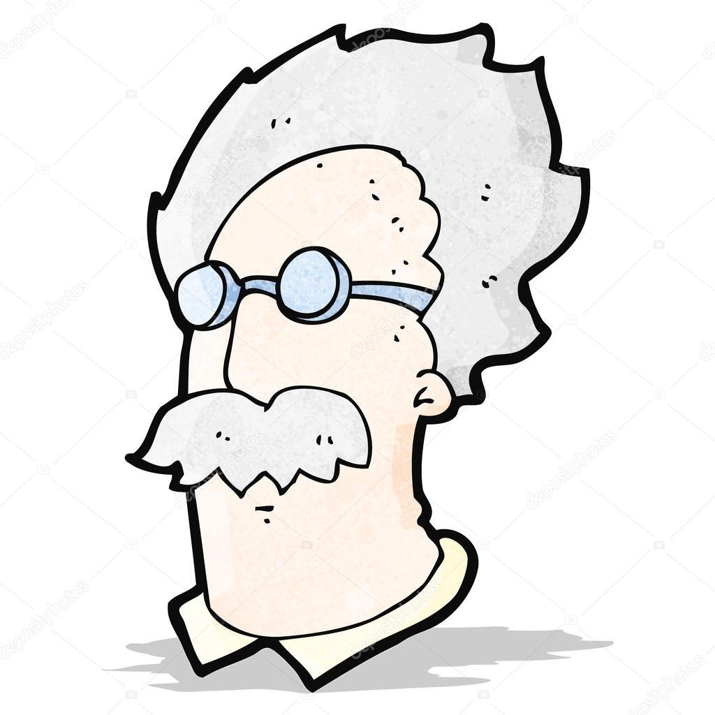 1024x1024 Cartoon Einstein Drawing