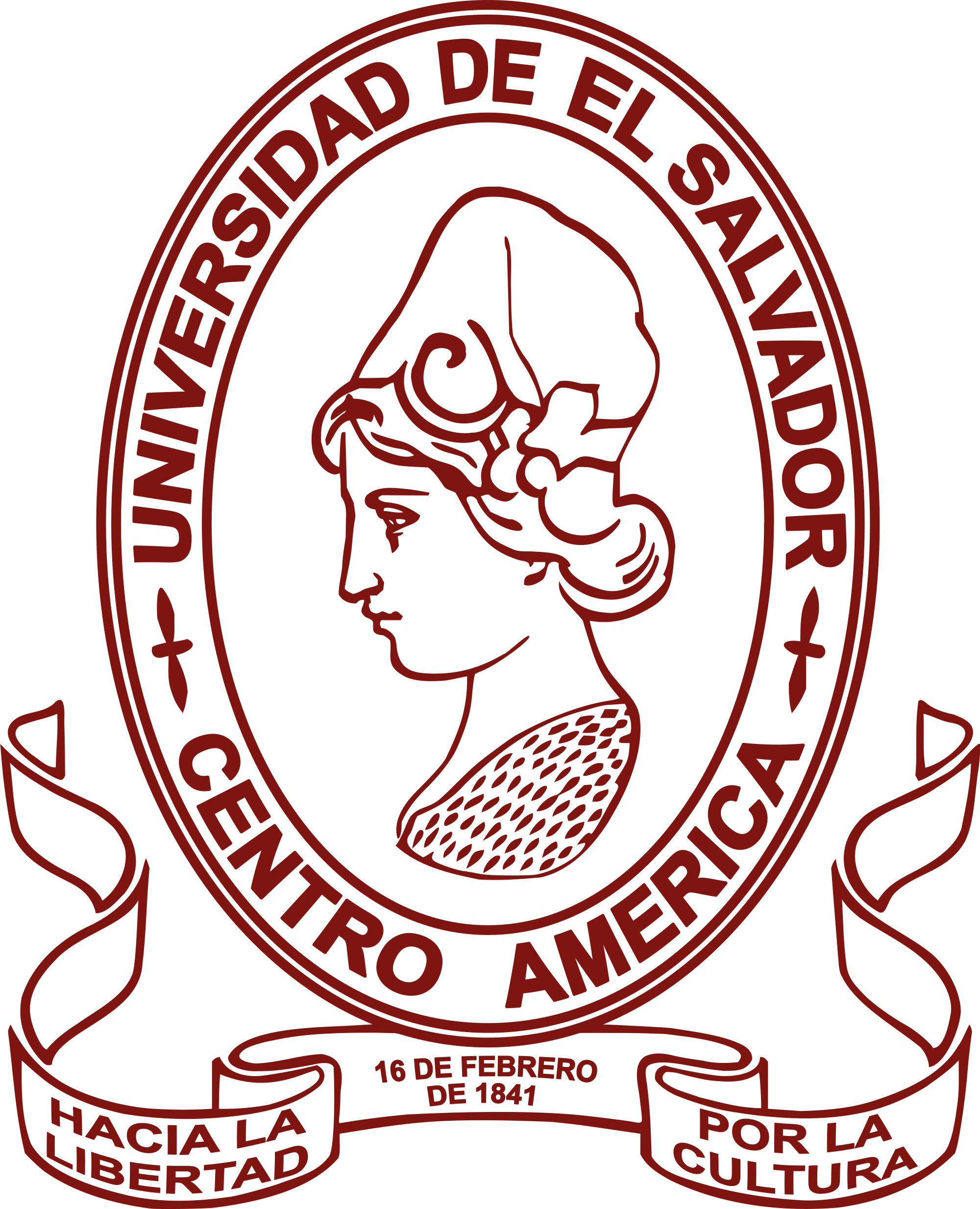 2000x2467 Fileescudo De La Universidad De El Salvador.svg