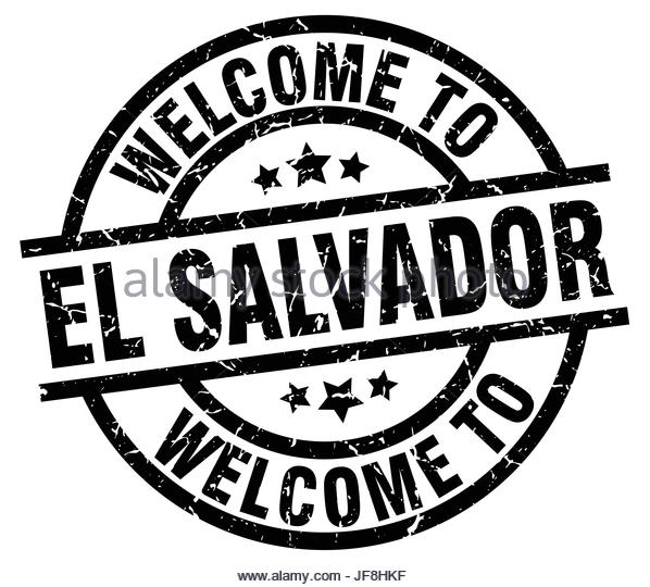 598x540 Welcome El Salvador Stamp Stock Photos Amp Welcome El Salvador Stamp