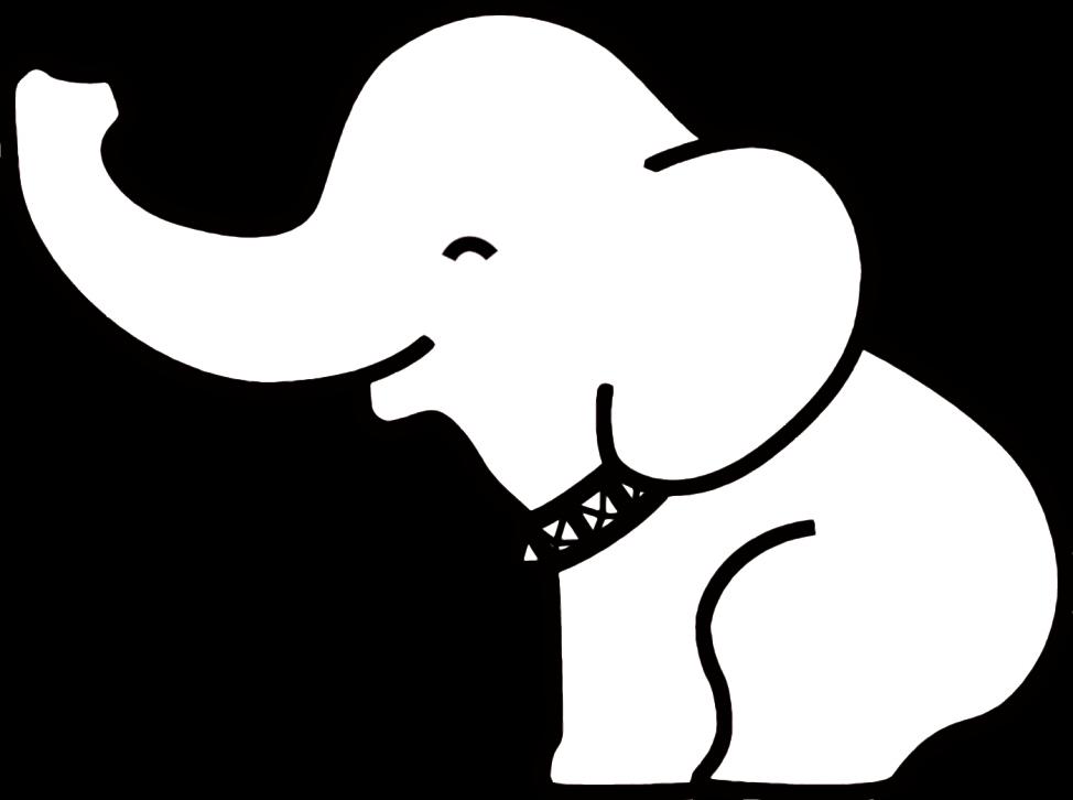 974x726 Easy Cartoon Elephant Drawing Tags Elephant Drawing Easy Easy