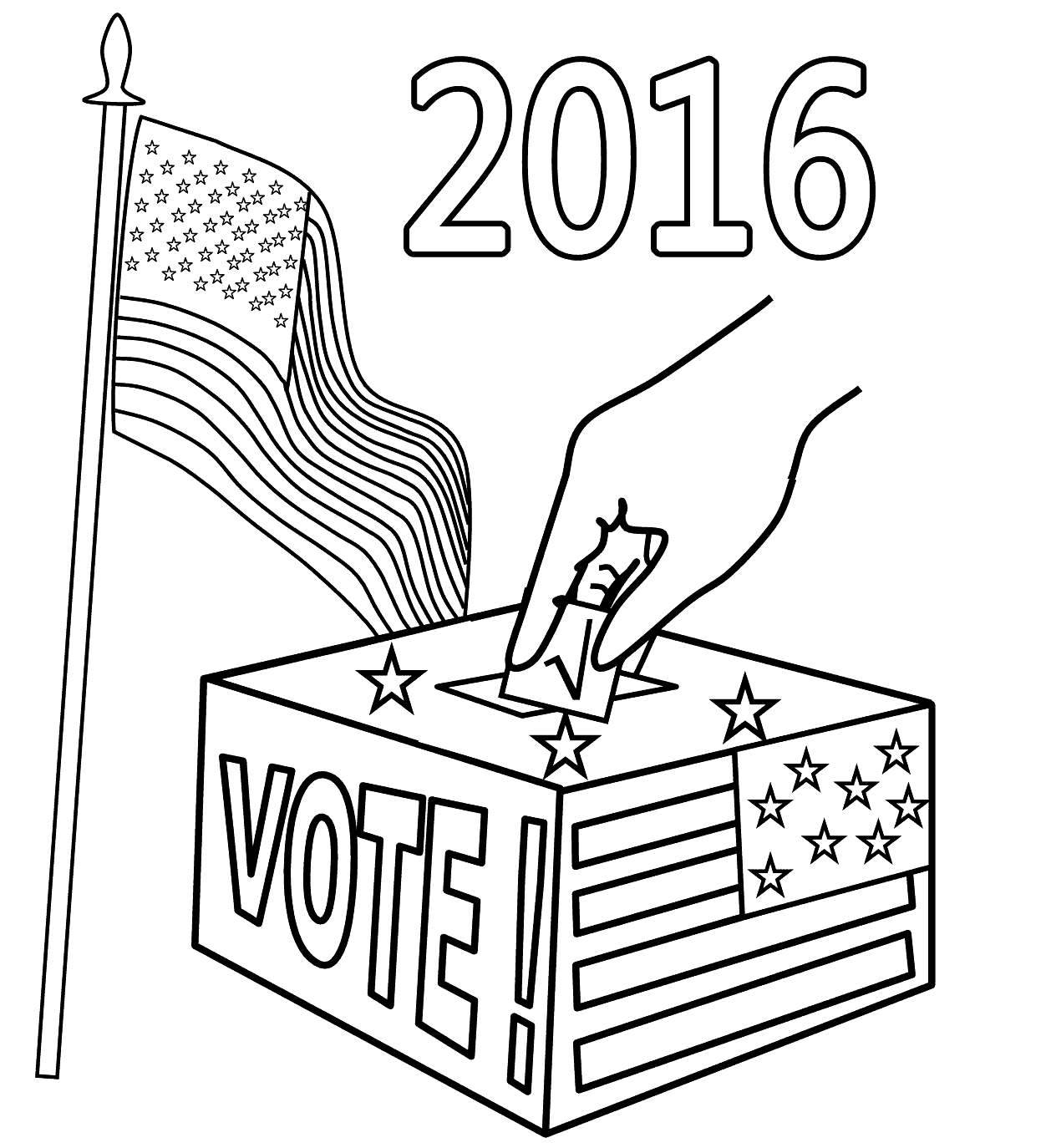 Election Drawing