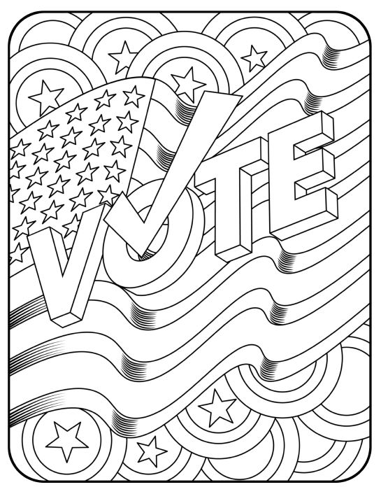Democracy Coloring Pages