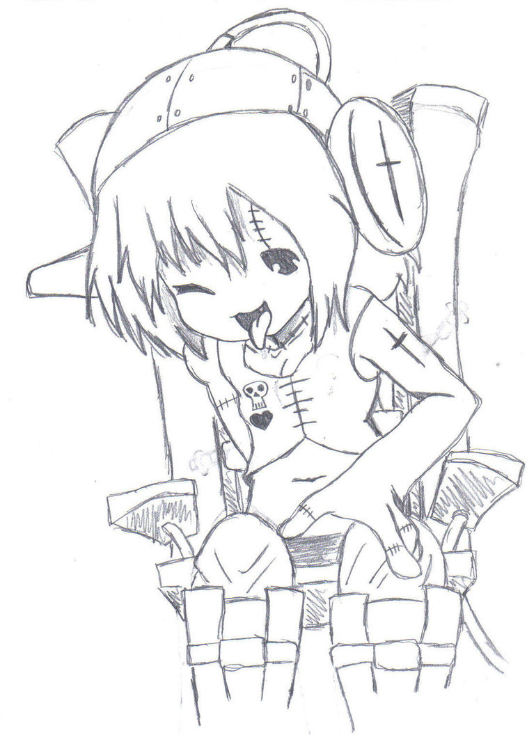 757x1056 Electric Chair Sketch By Ala69