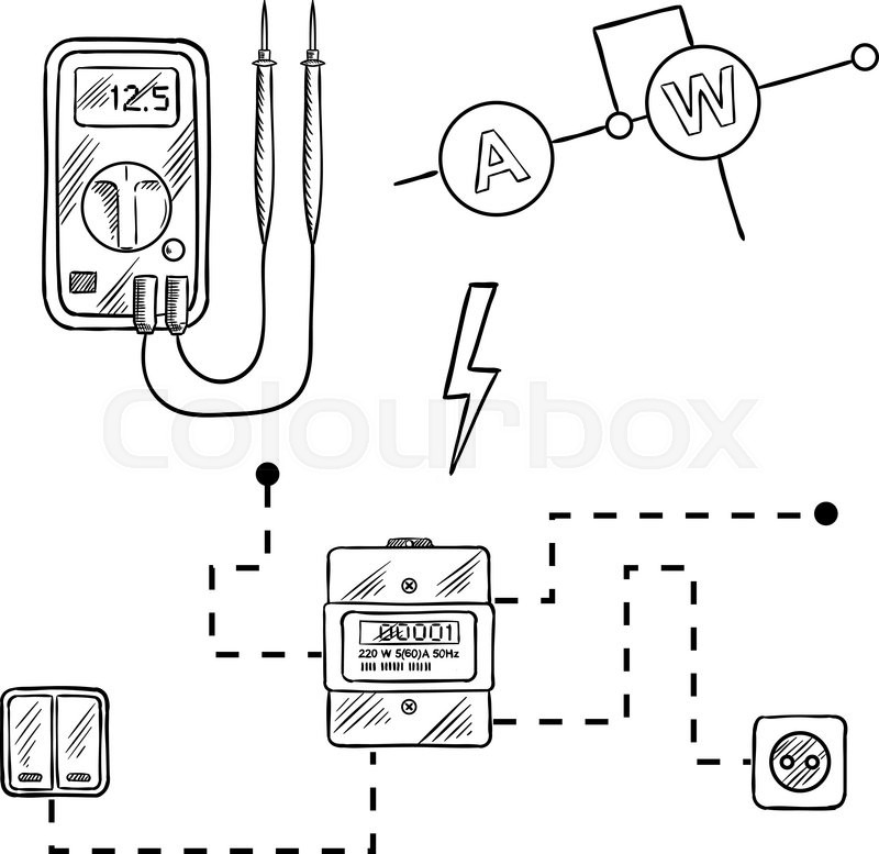 Electric Circuit Drawing At Getdrawings Com