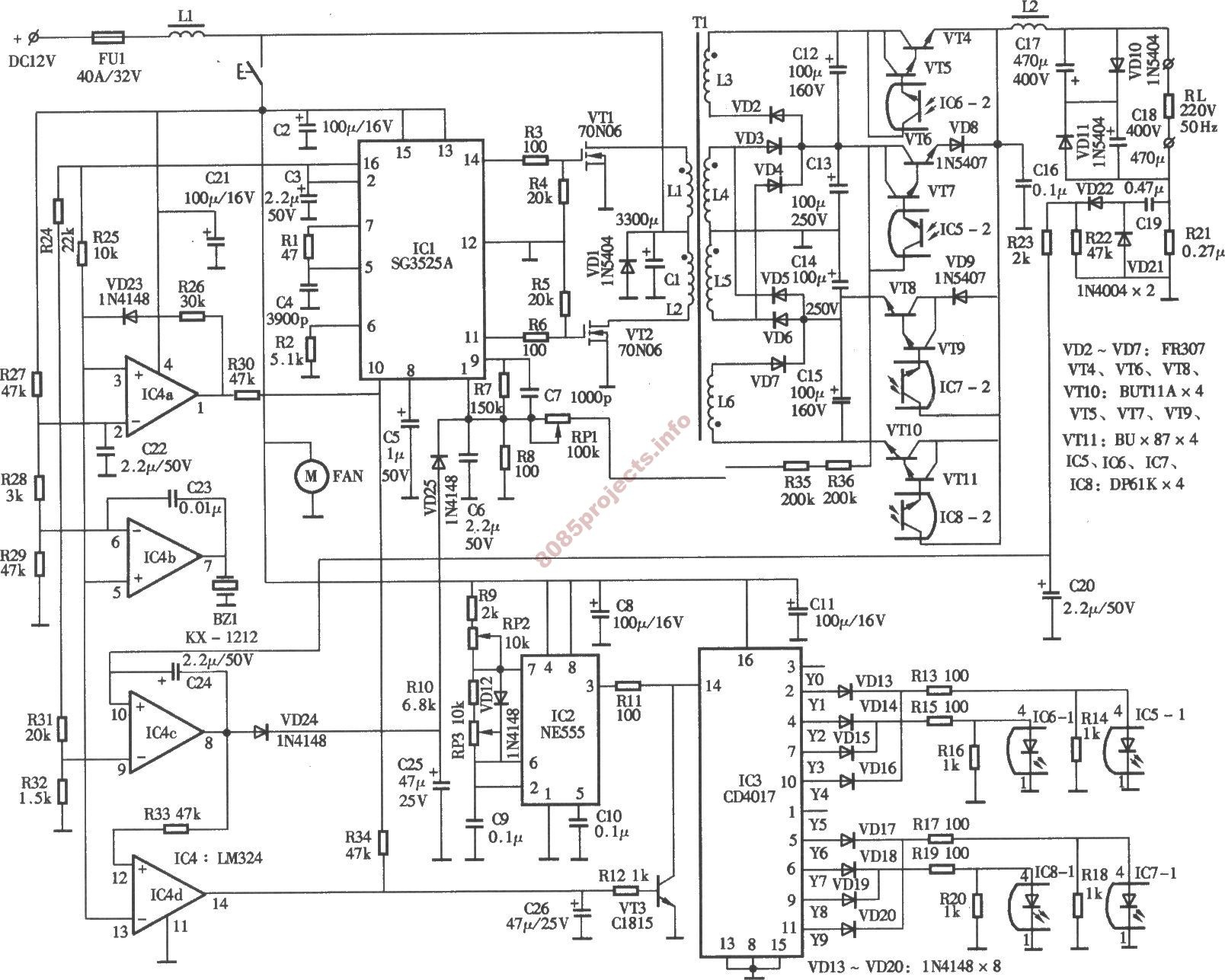 Electric Circuit Drawing At Free For Personal Use Electronic Circuits Electronics Analysis 1608x1287 Projects Blog Archive 300w Inverter