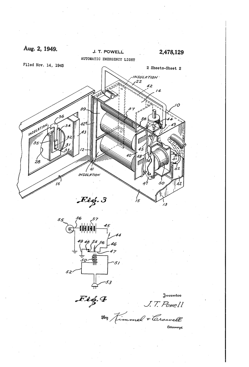 850x1249 Patent Us20140354048 Integrated Lamp With Automatic Emergency