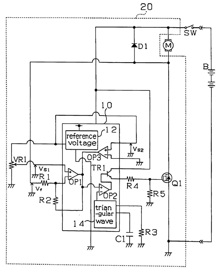 electric drawing at getdrawings free for personal use electric Ladder Wiring Schematics 850x1037 patent us5814955 motor control circuit with a low voltage drawing