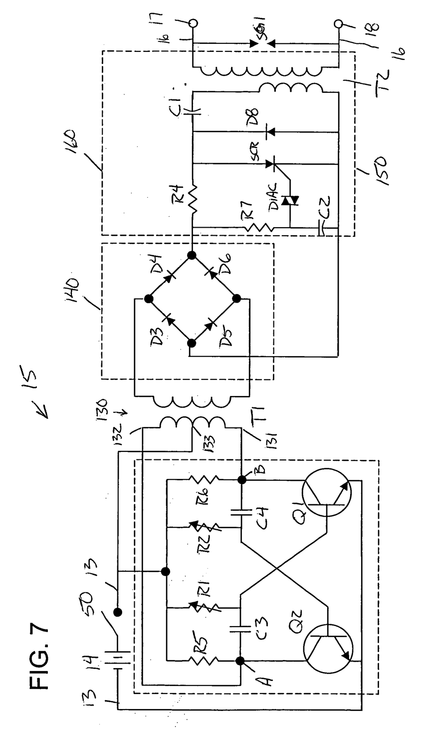 850x1480 Patent Us5877949 Direct Capacitive Discharge Electric Fence