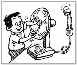 300x252 The Electric Fan Can Be Electric Generator ! Rex Chan