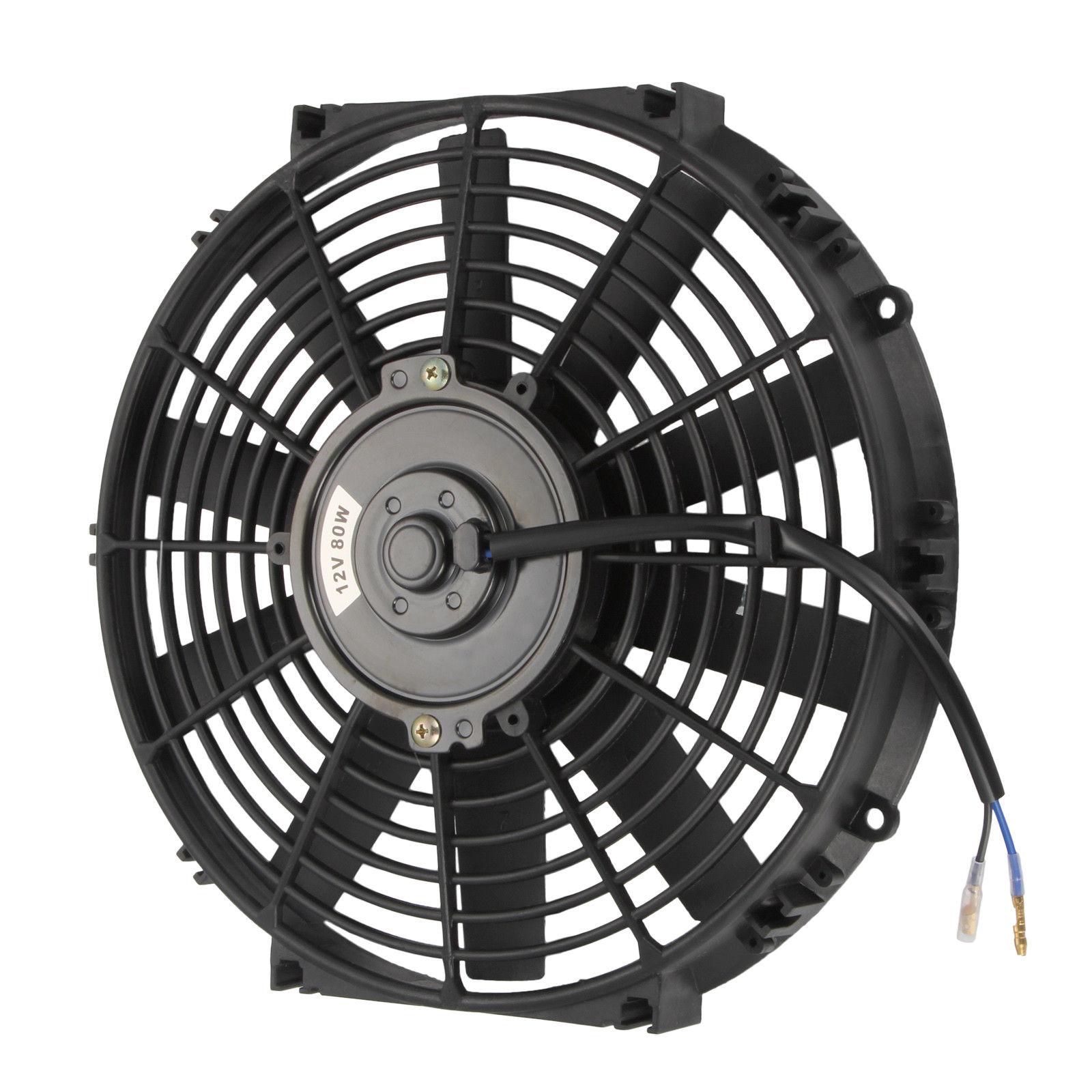 1600x1600 Universal 12 Inch Radiator Fan Cooling Thermo Electric Fan W