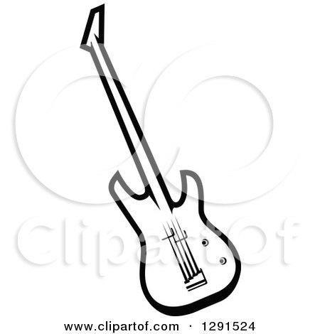 Electric Guitar Drawing At Getdrawings Com