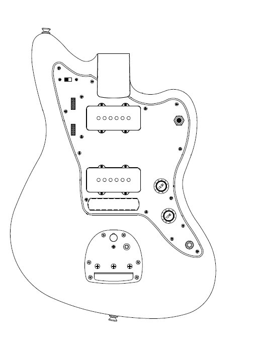 Ibanez Guitar Parts