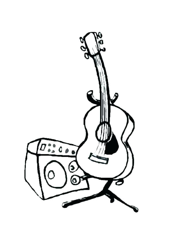 The Best Free Electric Guitar Drawing Images Download From 50 Free