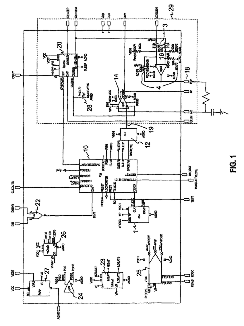 Electric Motor Drawing At Free For Personal Use Electrical Diagram Of Crane 850x1134 Patent Us5350076 Bridge Control System