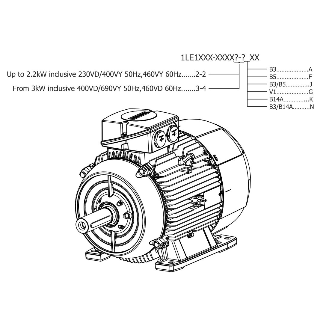 Electric Motor Drawing At Free For Personal Use Wiring Diagrams Motors Ac 1078x1078 Siemens Low Voltage 3 Phase Tefc Squirrel Cage Standard Induction