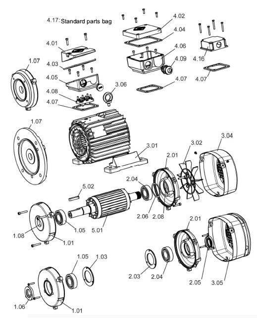 Electric Motor Drawing At Getdrawings Com Free For