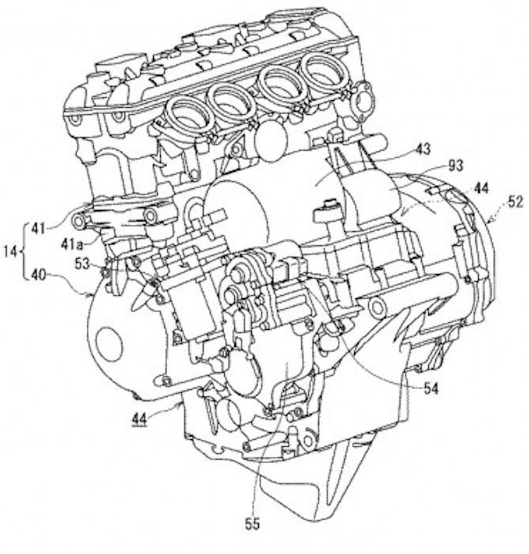 750x786 Suzuki Files Patent For A Hybrid Motorcycle With Semi Automatic