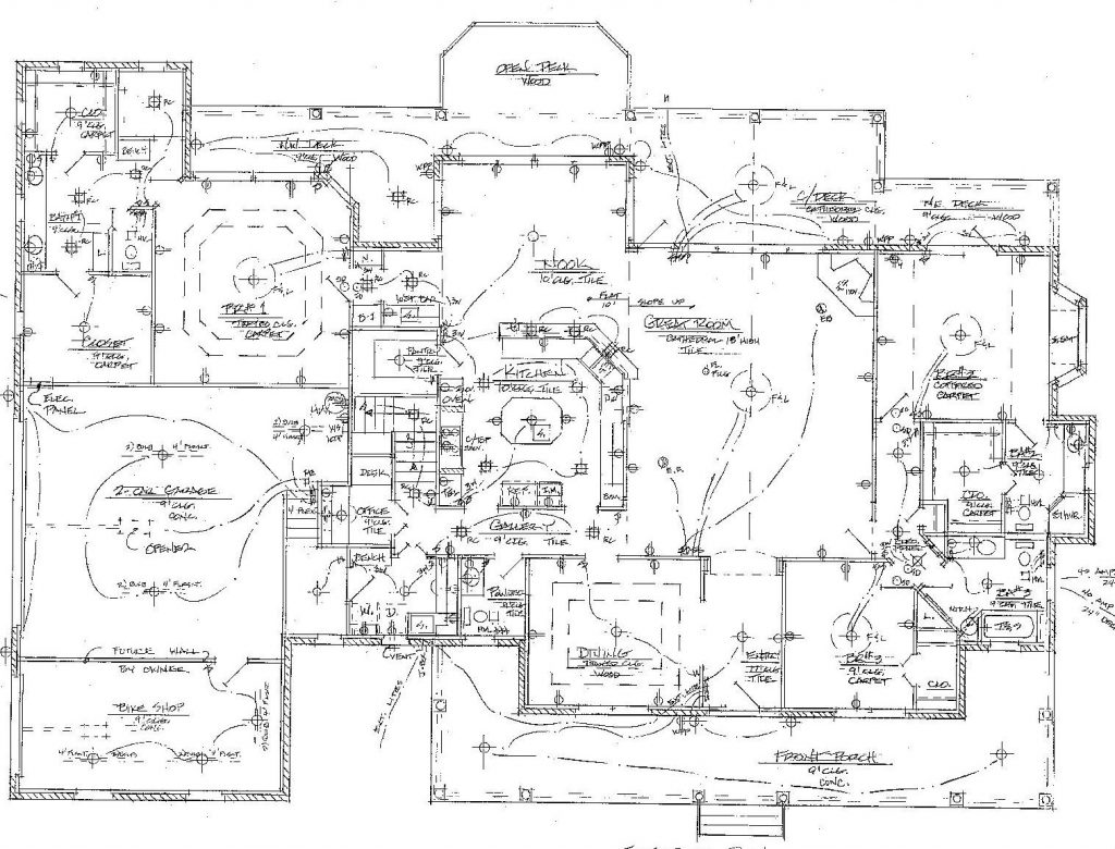 Electrical Drawing At Free For Personal Use Wiring And Design 1024x780 Diagram Building Software Sample