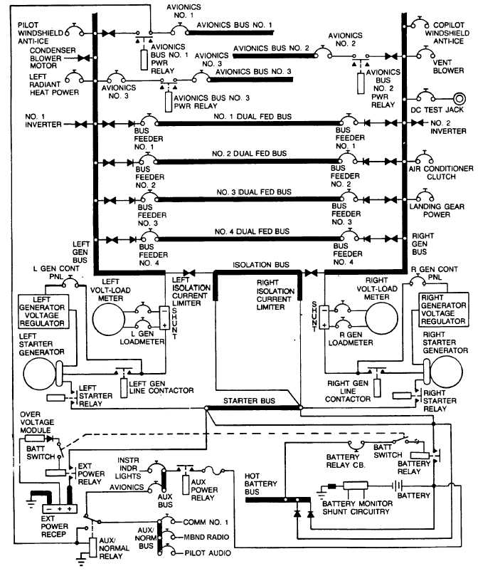 electrical drawing at getdrawings free for personal use RV Plug Wiring Diagram dc electrical system schematic
