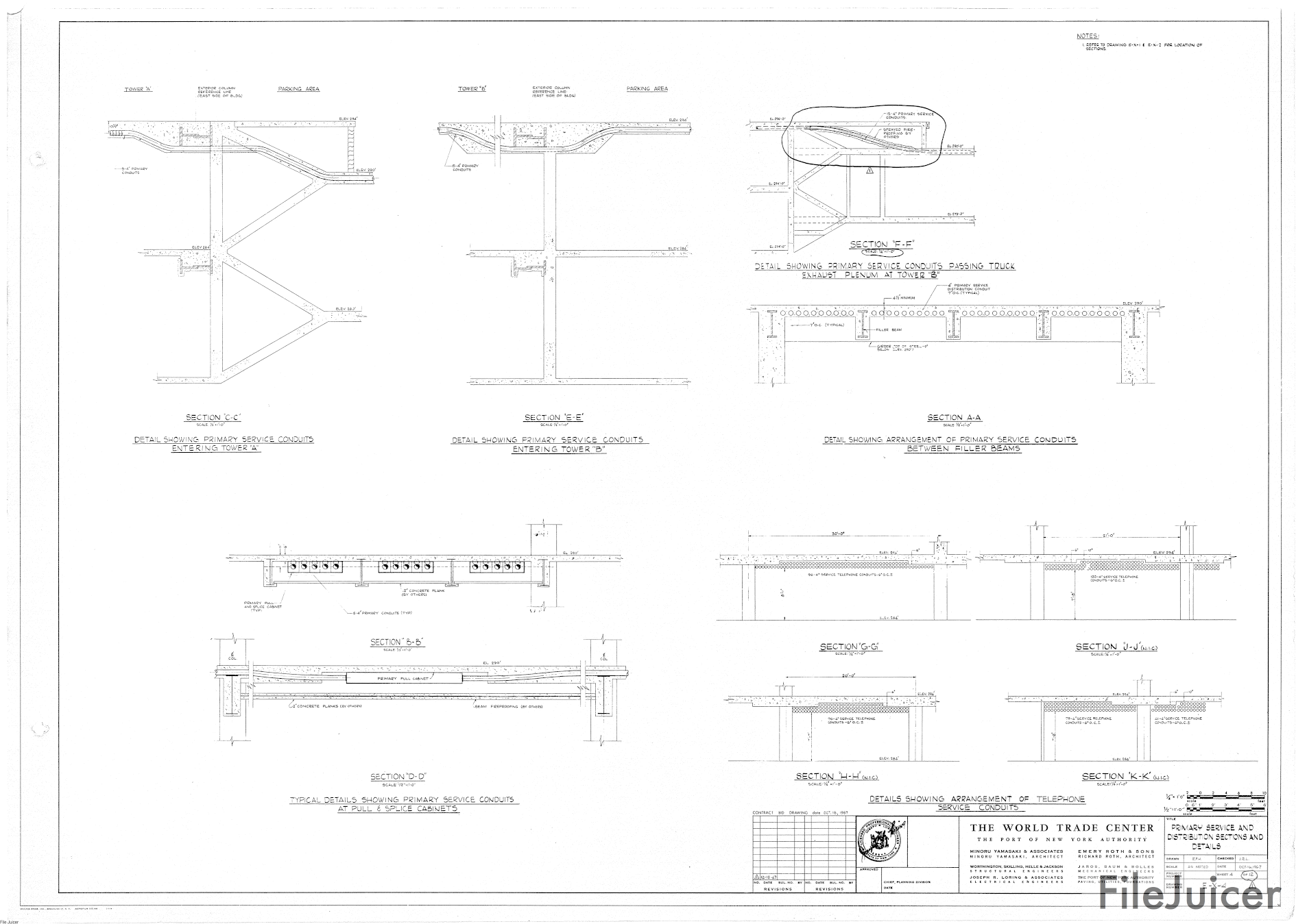 1890x1349 North Tower Blueprints