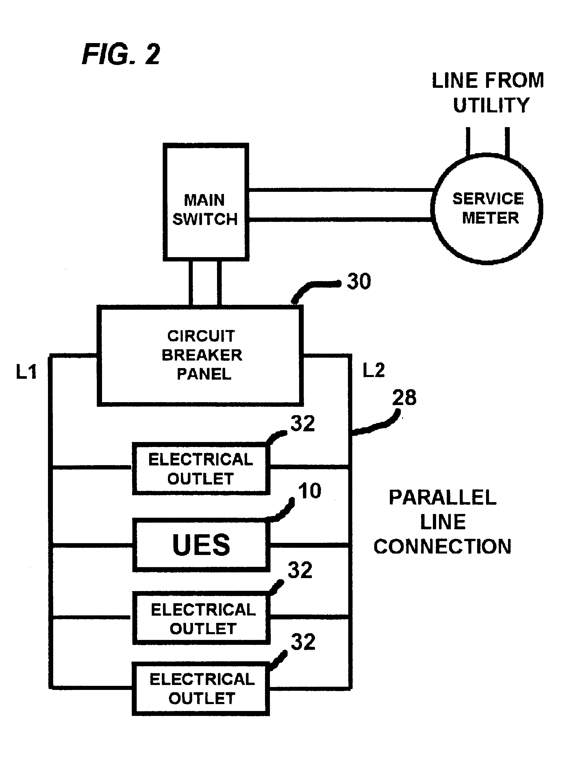 Electrical Energy Drawing At Free For Personal Use Outlet Google Patents On Wiring A Light Switch Off Gfci 1962x2641 Patent Us6801022 Universal Saver