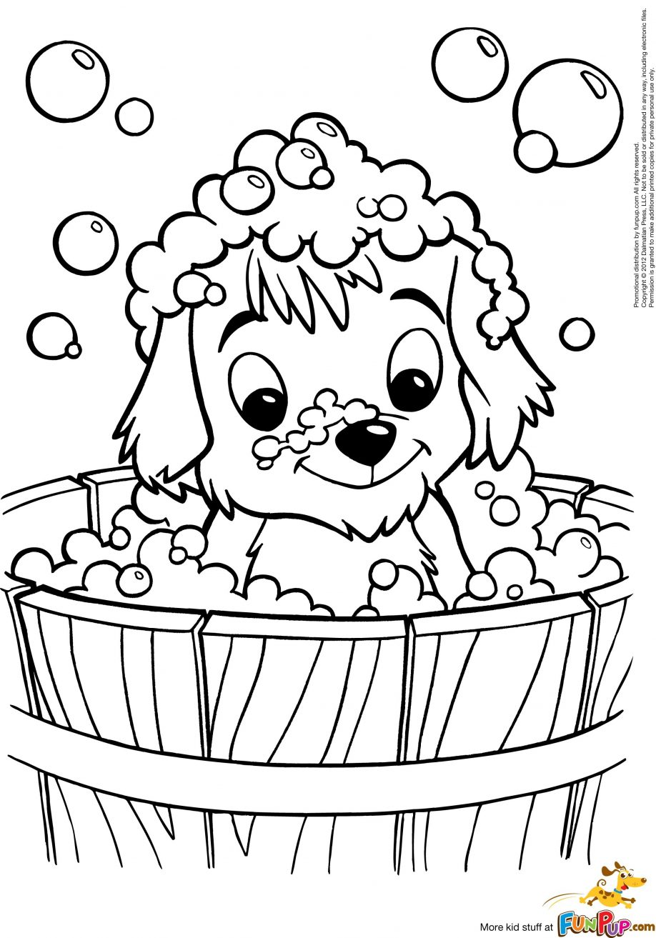 918x1313 Excellent How To Draw Puppy Drawing For Puppy Coloring Pages