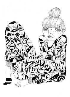 236x328 Julia Trybala Via Supersonic Electronic Art Illustration