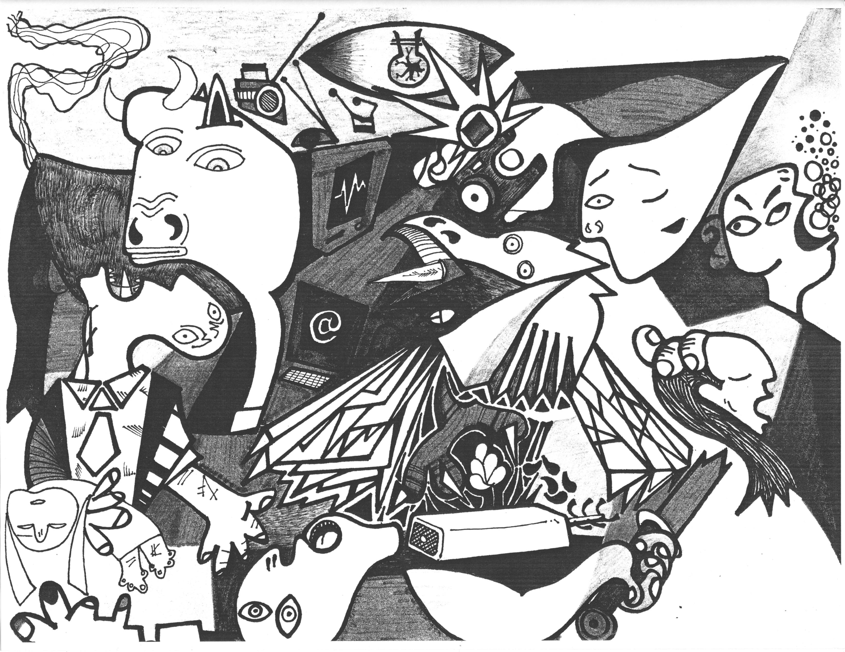 3288x2536 E Guernica Words With No Names