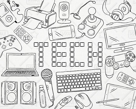 Electronics Drawing At Getdrawings Com