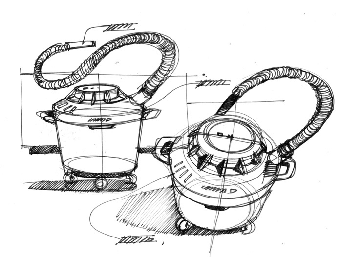 700x527 Sketches We Like Vacuum Cleaner Pen Sketch Line Draw Quick