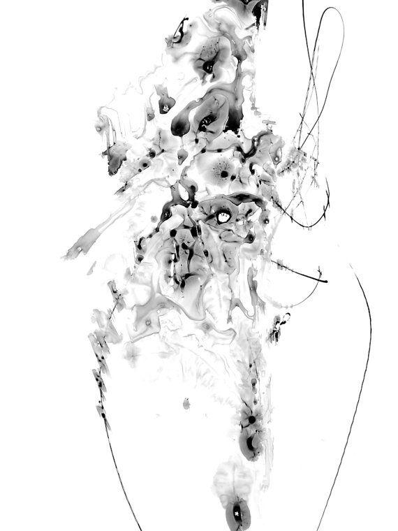 zen ink painting