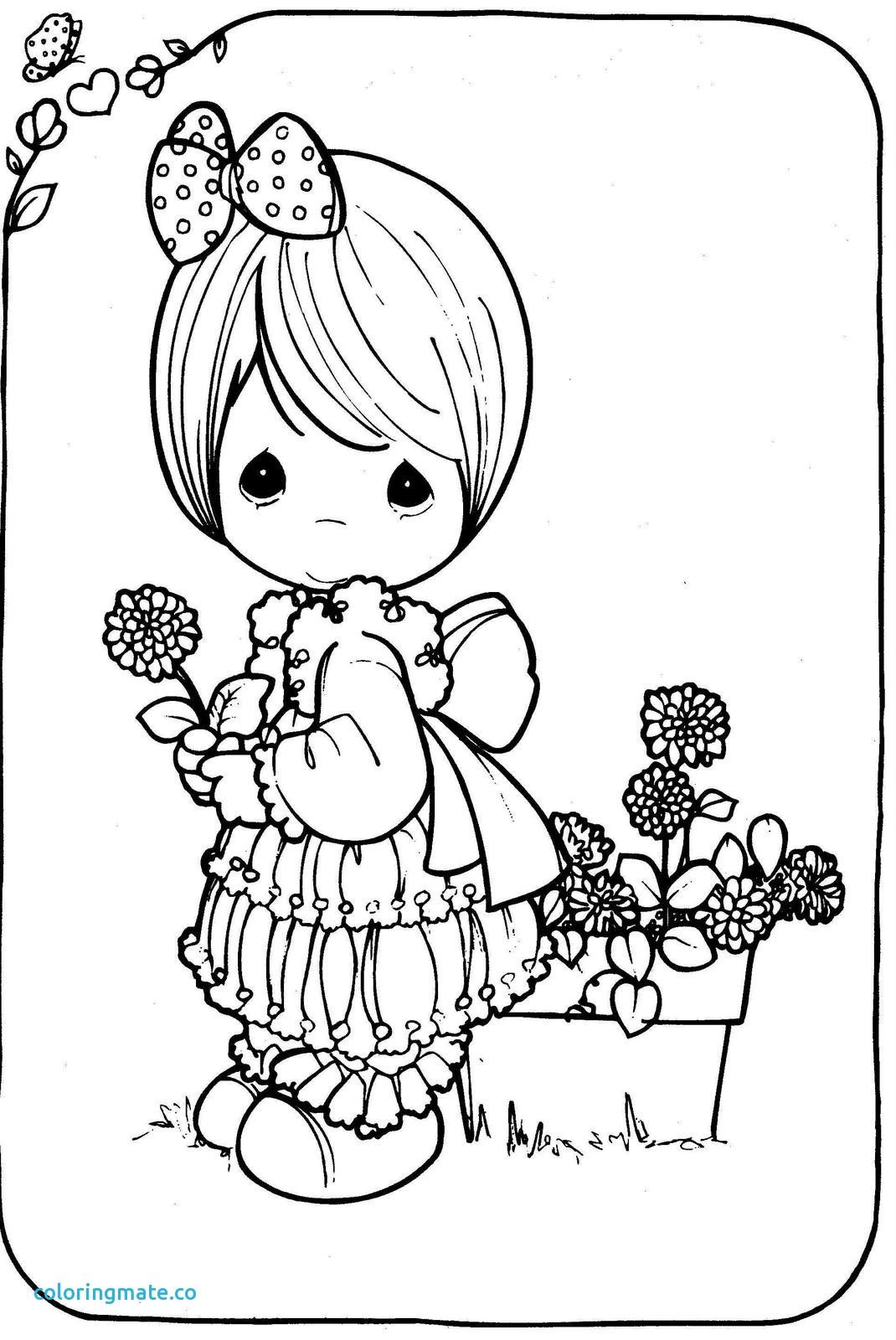 1070x1600 Precious Moments Coloring Pages Elegant Drawing Girl Precious