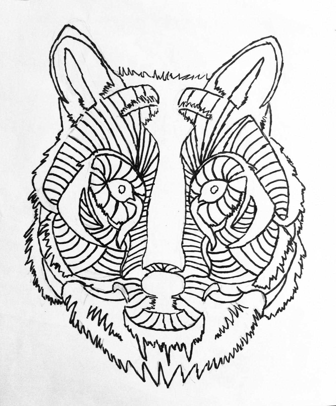 1323x1600 Element Art Line Drawing