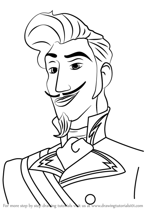 566x800 Learn How To Draw Chancellor Esteban From Elena Of Avalor (Elena