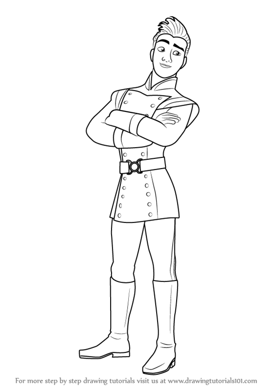 566x800 Learn How To Draw Gabe From Elena Of Avalor (Elena Of Avalor) Step