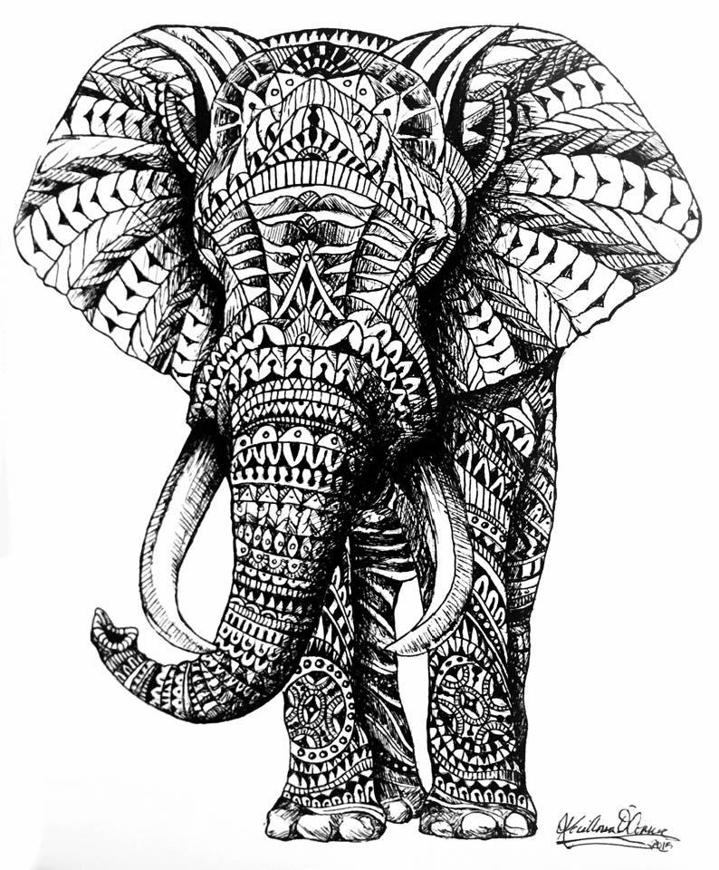 794x960 Ornate Elephant By Slightly Spartan