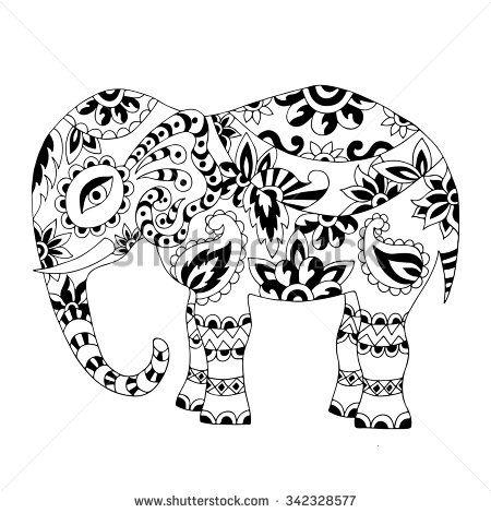 450x470 Elephant Art