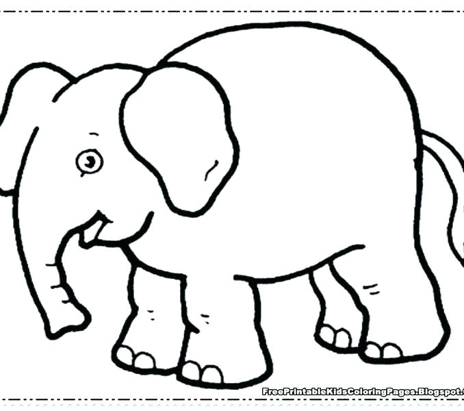 678x600 Baby Elephant Coloring Pictures Coloring Page Of Elephant Coloring