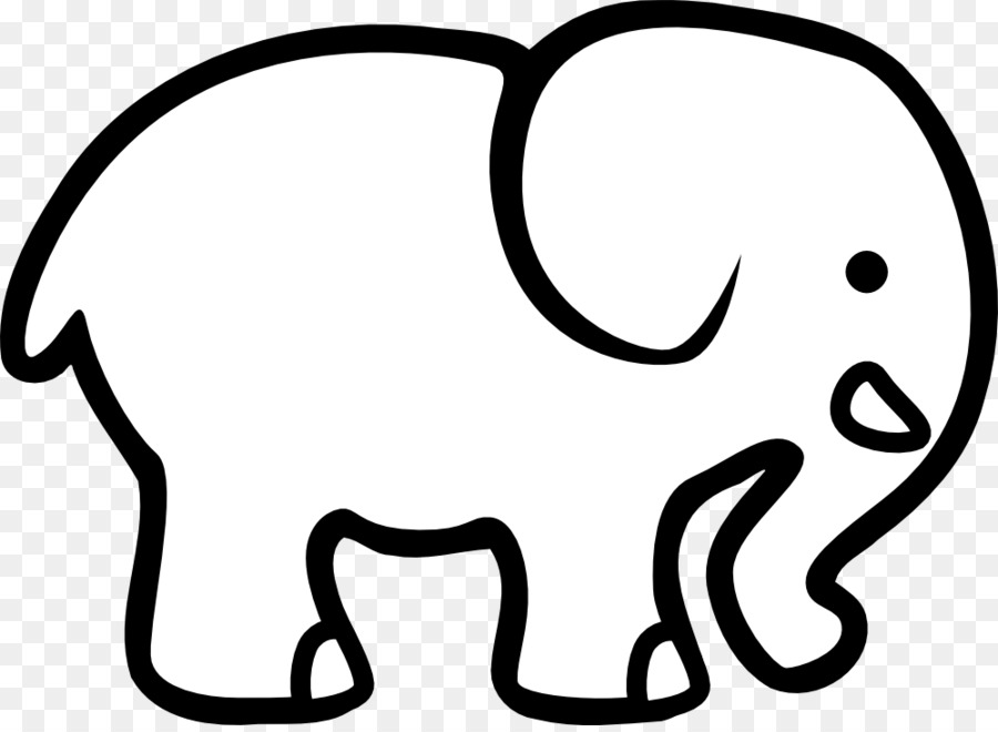 900x660 Elephant Black And White Free Content Clip Art