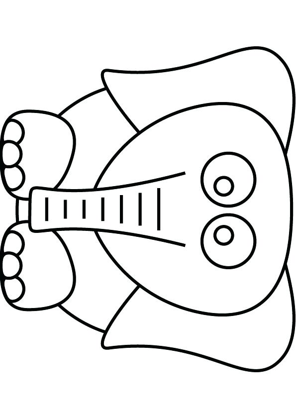 595x842 Dumbo Coloring Pages Download Free Elephant Drawing Page Dumbo