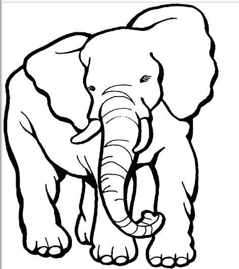 472x532 Cartoon Elephant Coloring Pages Elephant Cartoon Elephant