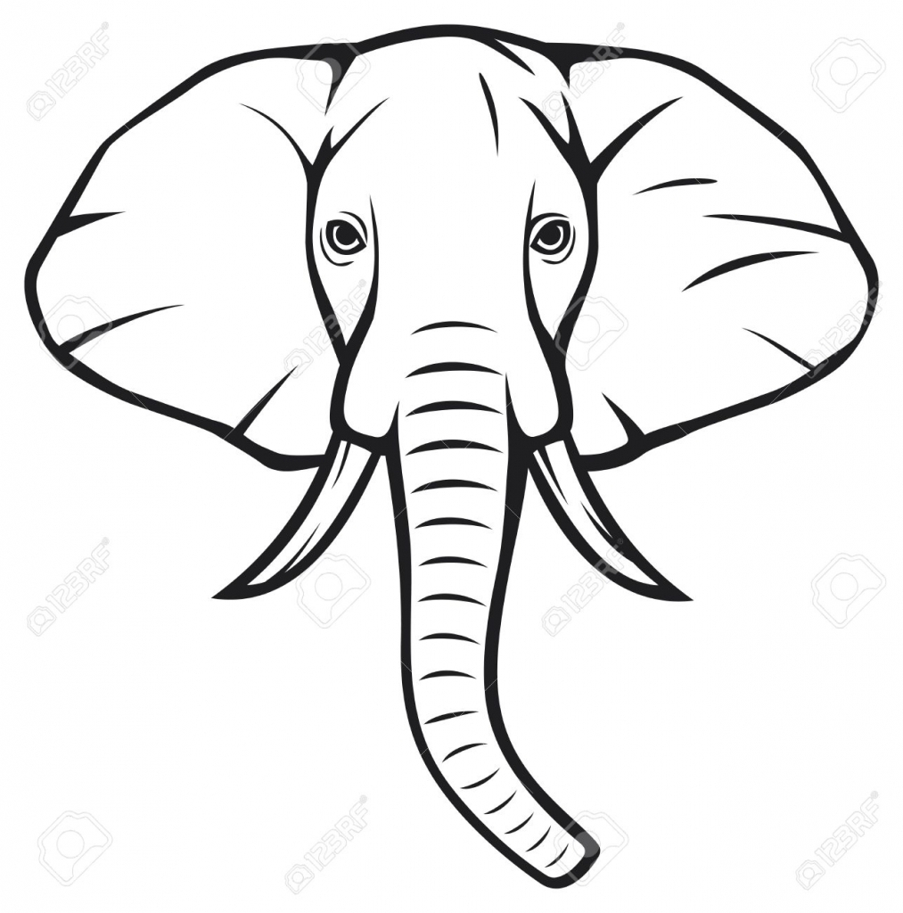 Elephant Drawing Easy At Getdrawings Com Free For Personal