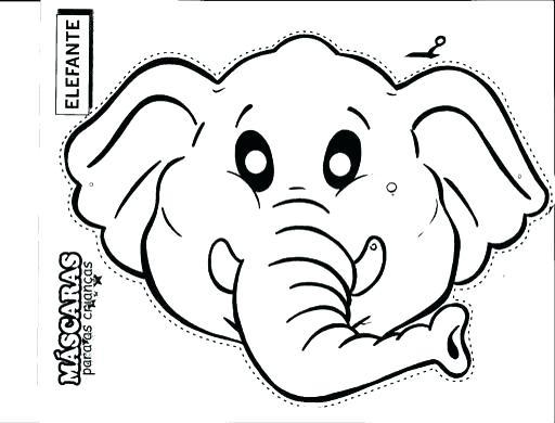512x390 Elephant Head Coloring Page Elephant Head Elephant Face Coloring