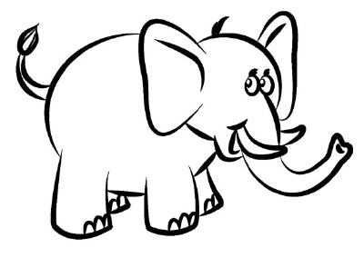 Elephant Drawing Images